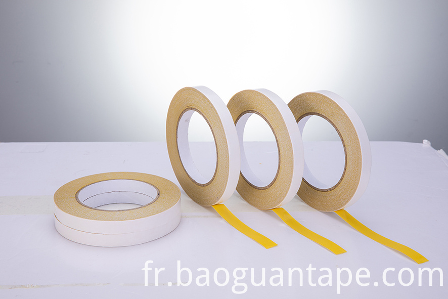 double side adhesive yellow hotmelt embroidery tape06