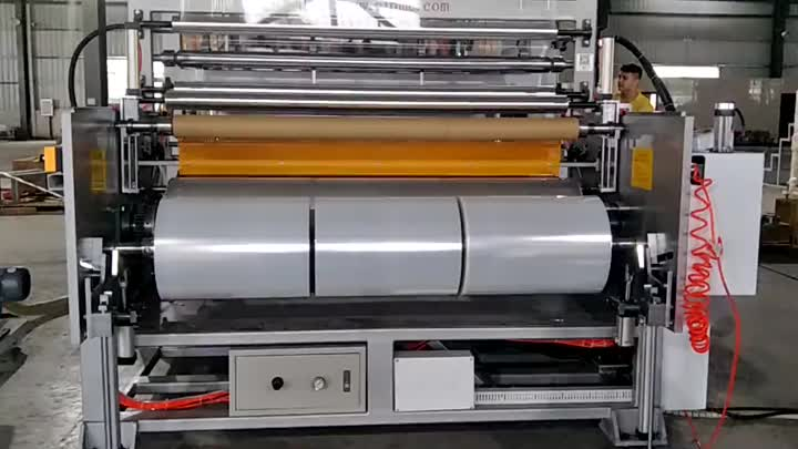 CL-70/100 / 70A jumbol rolls strech film production line.mp4
