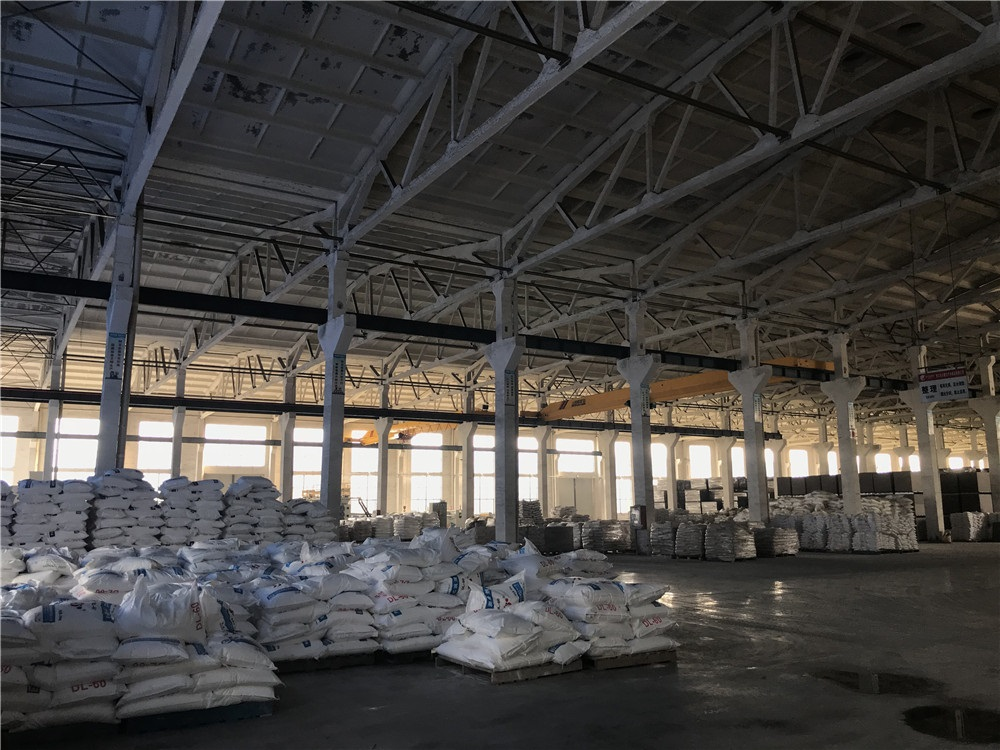 New raw materials warehouse