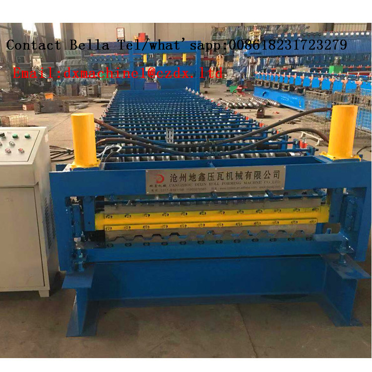 IBR double layer roll forming machine