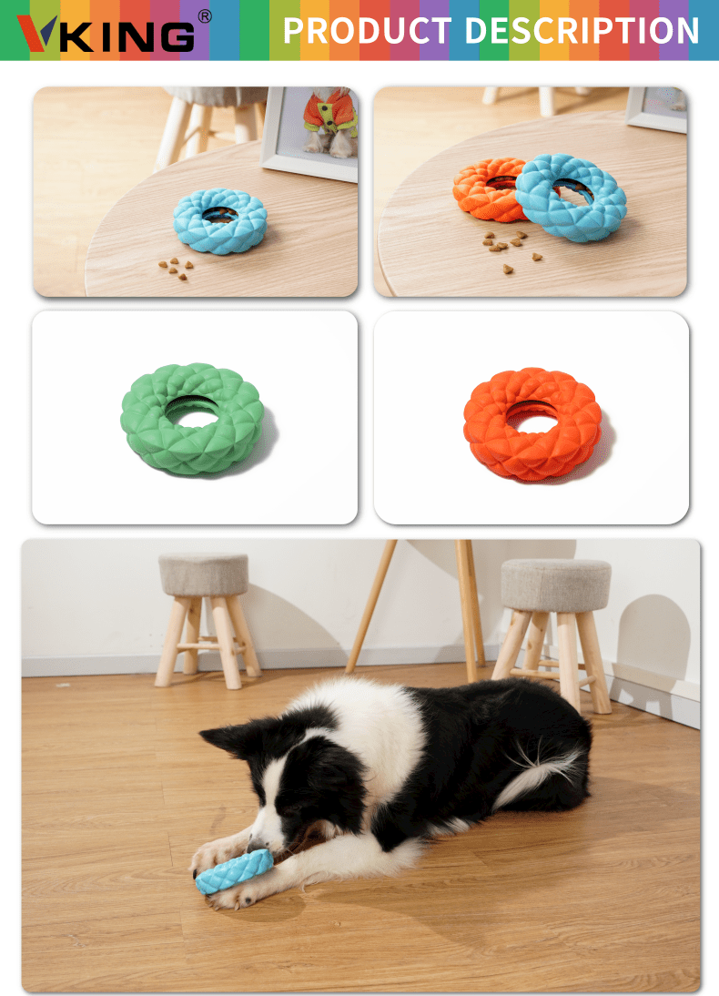 Ring Feeder Puzzle Dog Toy