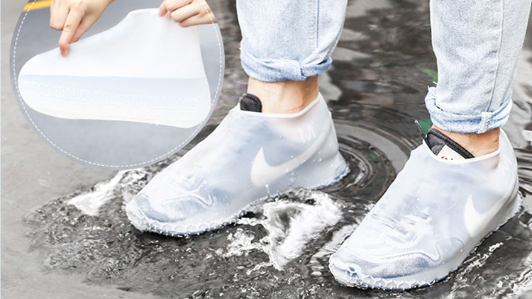 Silicone Waterproof Shoe Covers 2019 New Design