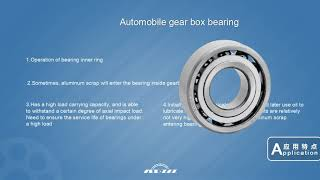 Automobile Bearings from XCC Group
