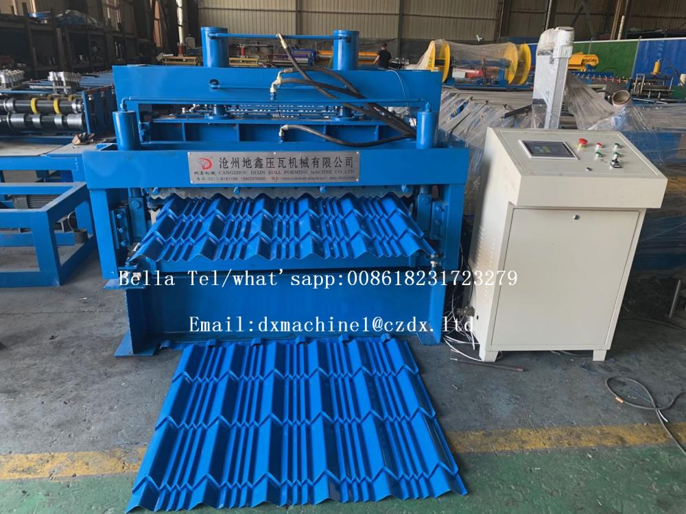 Glazed Iron Sheet Roll Forming Line