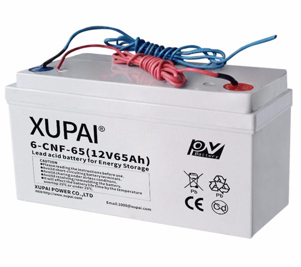 Batterie solaire XUPAI 6-CNF-65 12V 65Ah