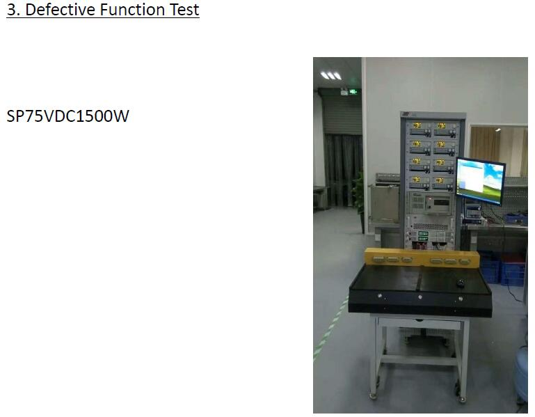 Defective Function Test
