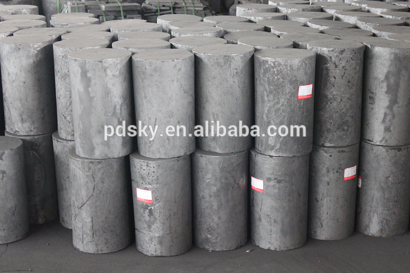 Round Molded Graphite Block