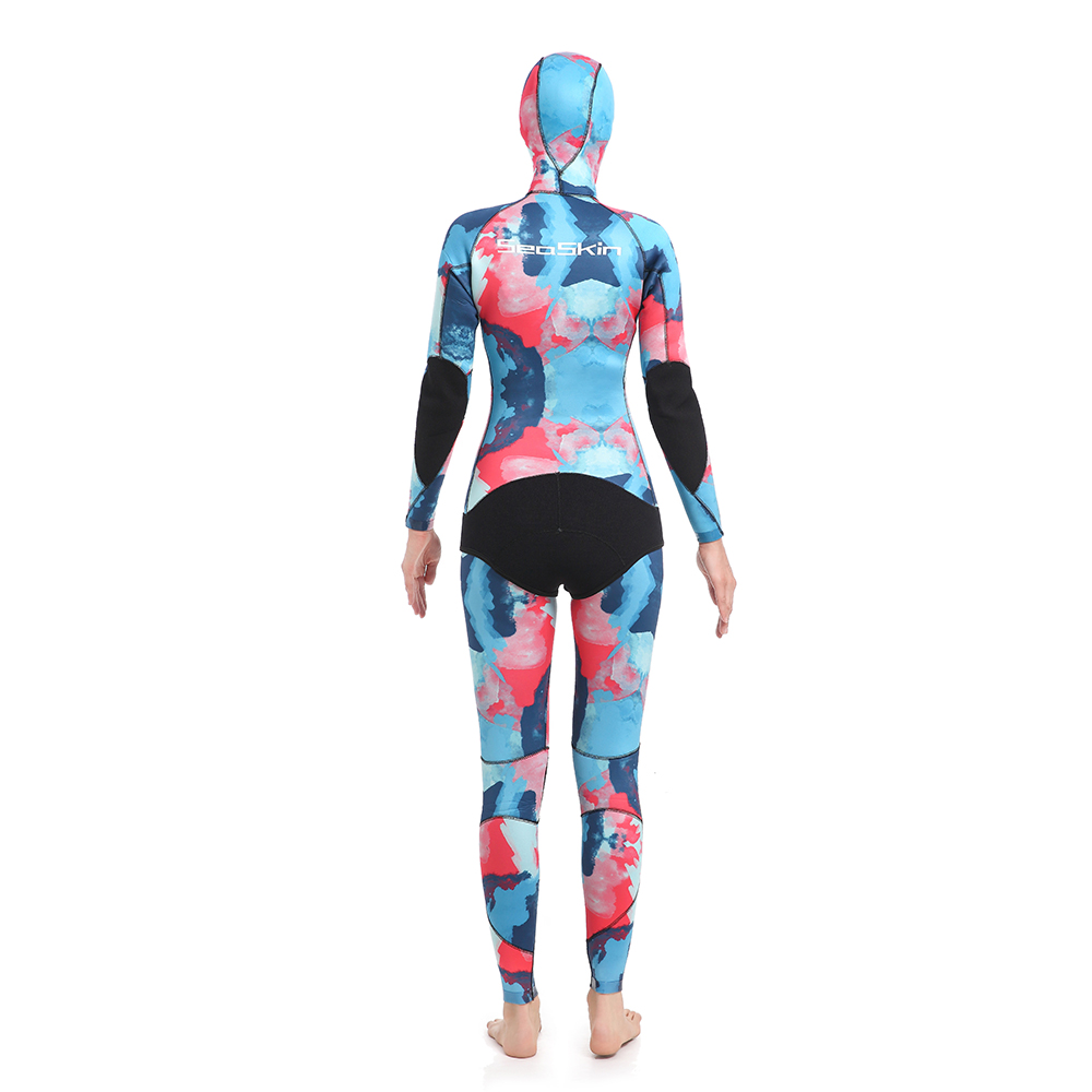 Dw015 Seaskin Women Two Pieces Wetsuit 92