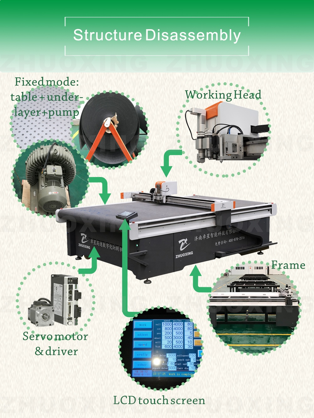 cloth cutting machine