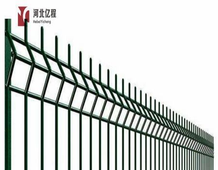 3D Curved Welded Fence