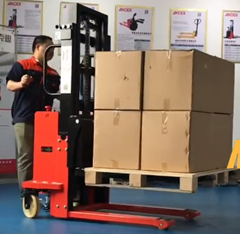 Semi Electric Stacker from Akodi Forklift