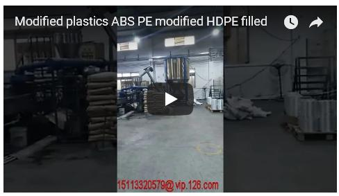 Modified plastics ABS PE modified HDPE filled China Factory Price