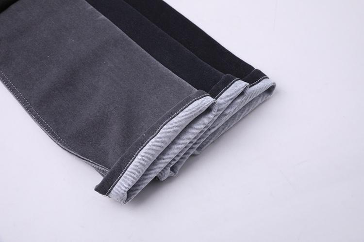 tissu en denim extensible en poly coton de haute qualité