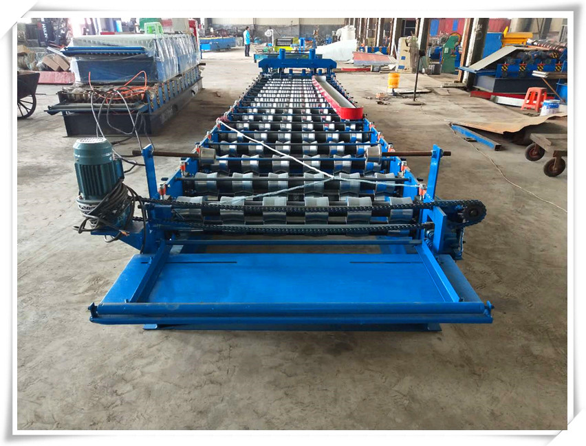 glazed roofing tiles forming machines
