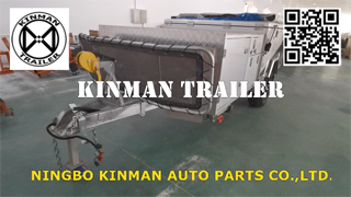 Kinman Trailer  - Off Road Camping Utility Trailer