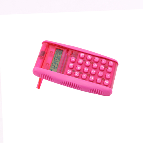 Hanyu pocket calculator with flip cover HY-2037