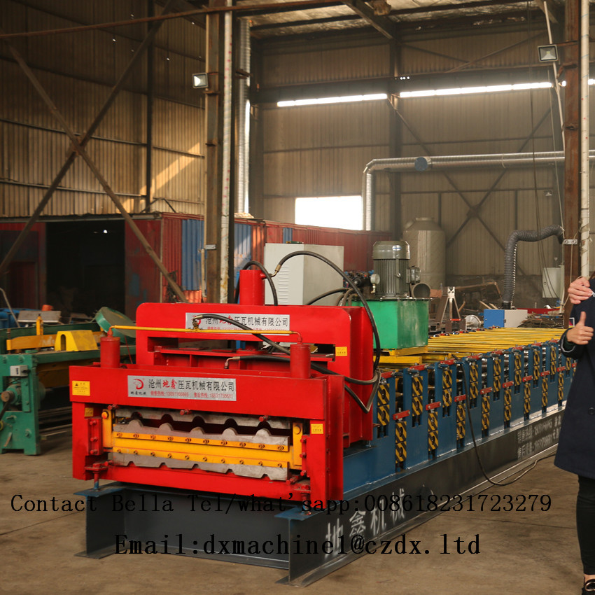 Steel Double Layer Steel Profile Forming Machine