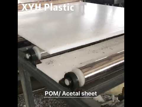 POM Sheet production process