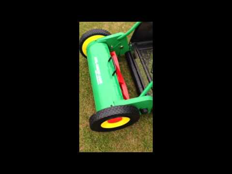 Luban hand push lawn mower
