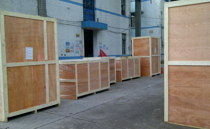turnstile gate plywood packing