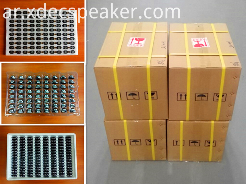 XDEC full range speaker, multimedia speaker, Package