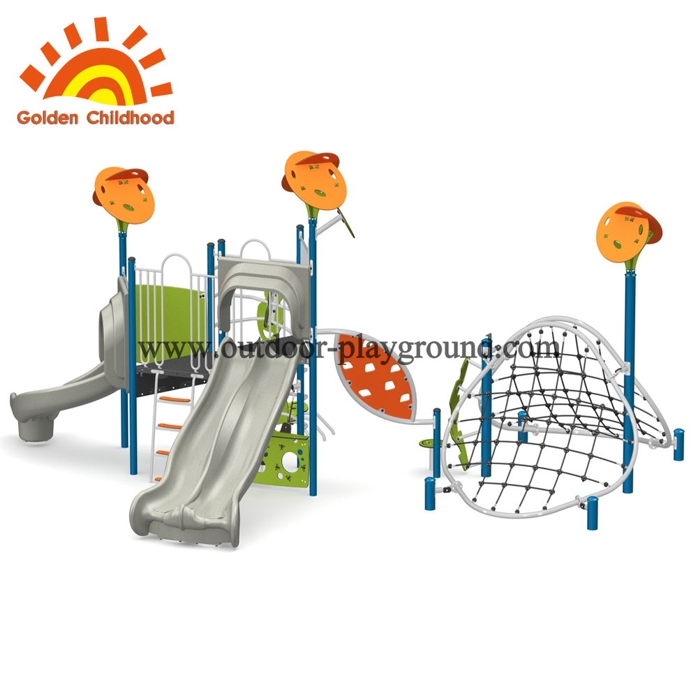 outdoor playground climb net for preschool