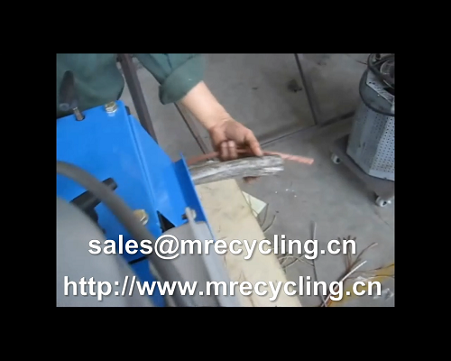 wire cutting and stripping machine