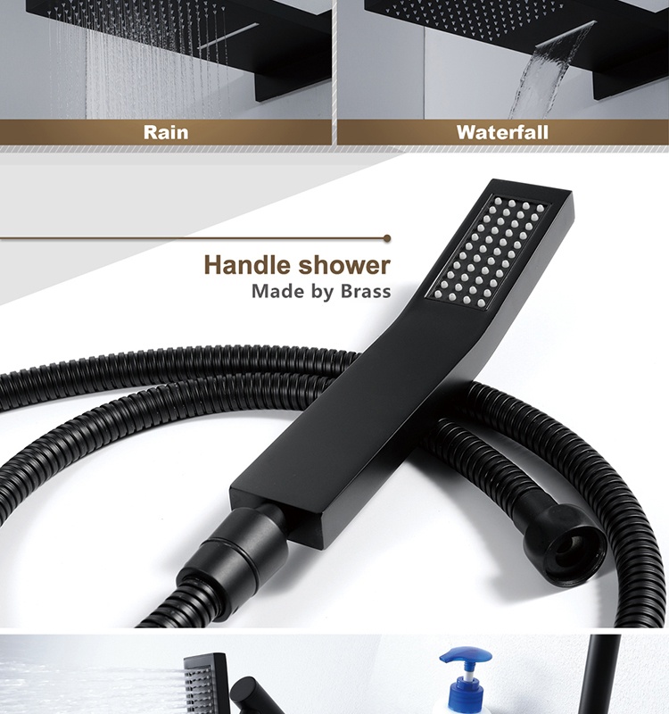 Black Shower Faucet