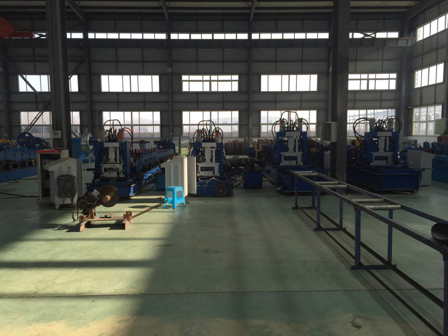 CZ purlin roll forming machine C purlin roll forming machine quickly change cz interchangeable