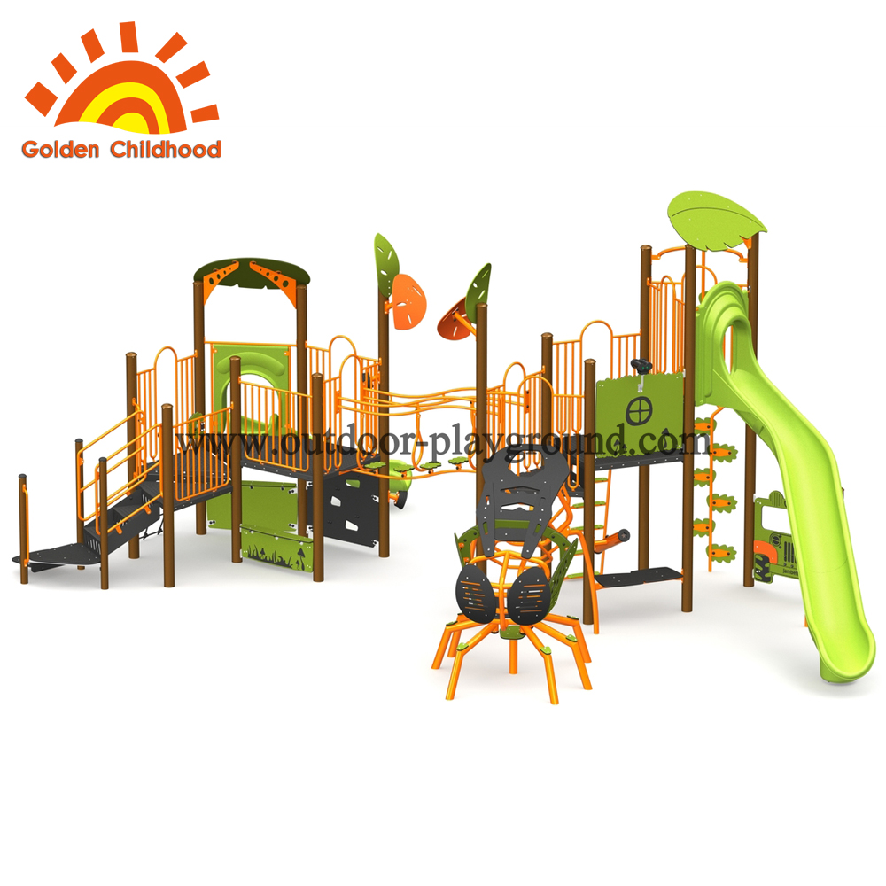 outdoor playground climbing frames