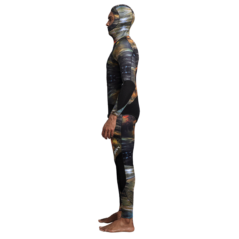 Seaskin Mens Wetsuits For Spearfishing - Coral Reef