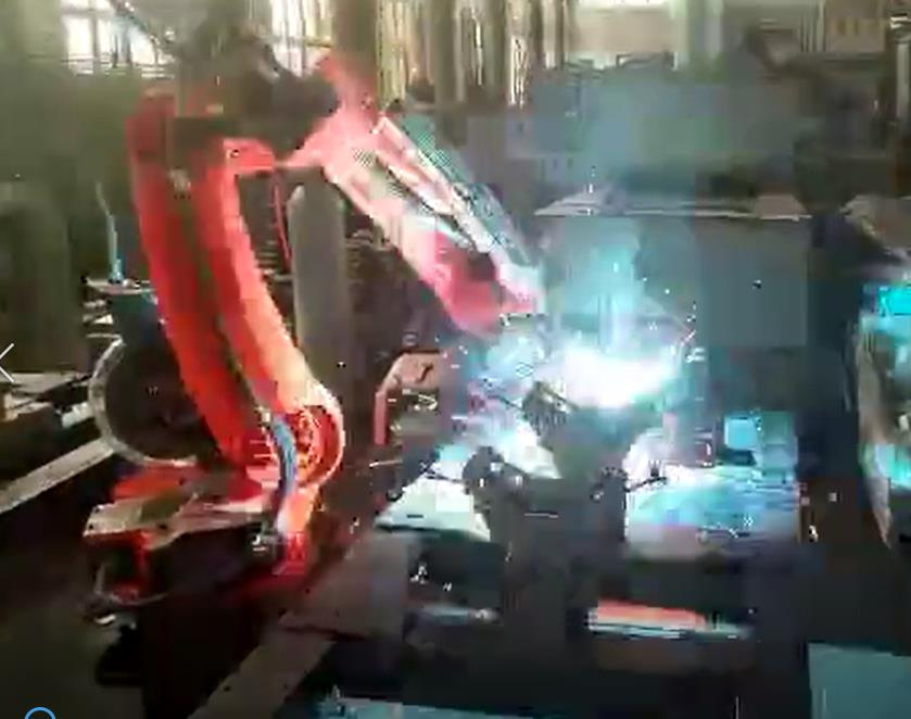 Welding Robots Workstation for Special Workpiece
