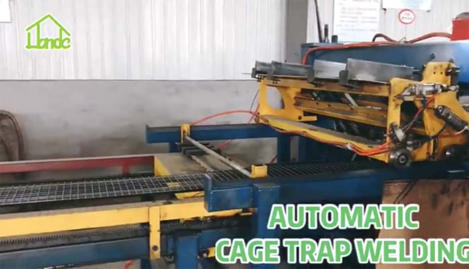 Congratulations! New Welding Machine for Cage Trap