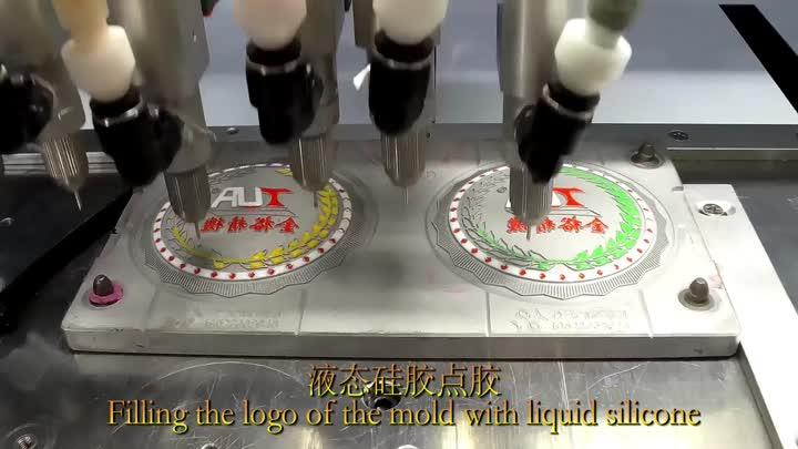 silicone cup coaster making process