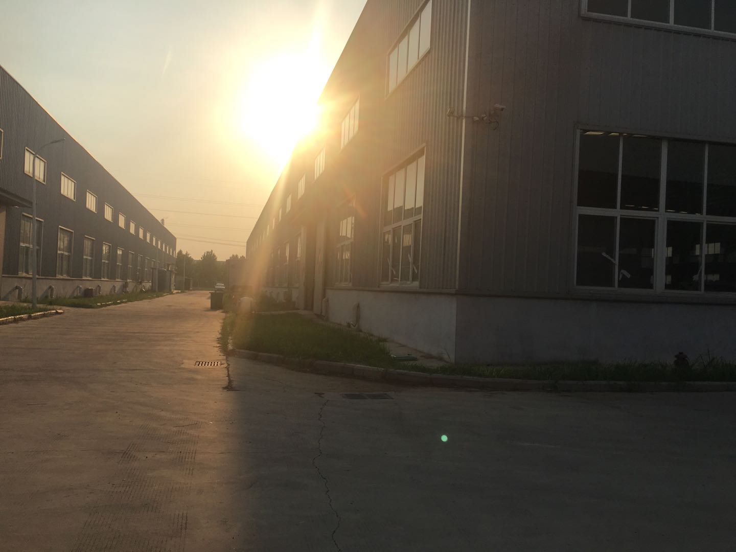 Factory view of plasma cutting machine manufacturer