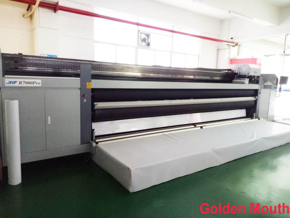 500 cm width JHF uv printer for the backlit film , pvc banner , canvas banner
