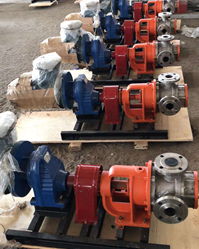 high viscosity internal gear pump