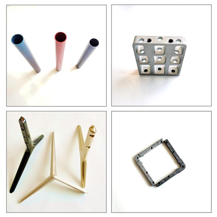 custom high precision cnc machining milling aluminum profiles extrusion heatsink