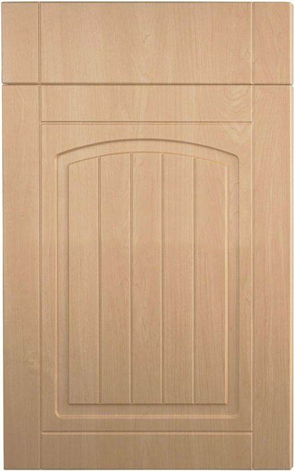 cabinet doors are pressed by pvc film