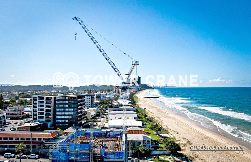Luffing Tower Crane GHD4510-6 in Australia