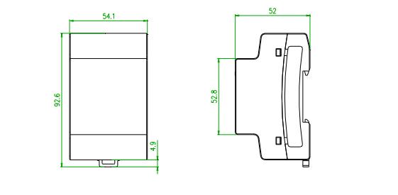 solar inverter energy meter kit