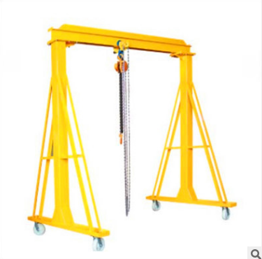 Mini gantry crane show