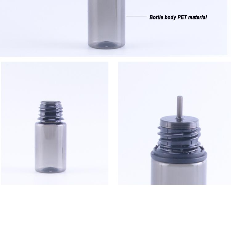 Retail includes freight Factory sales coloular 30ml 60ml 120ml E-liquid Plastic e cig bottle vape e-liquid