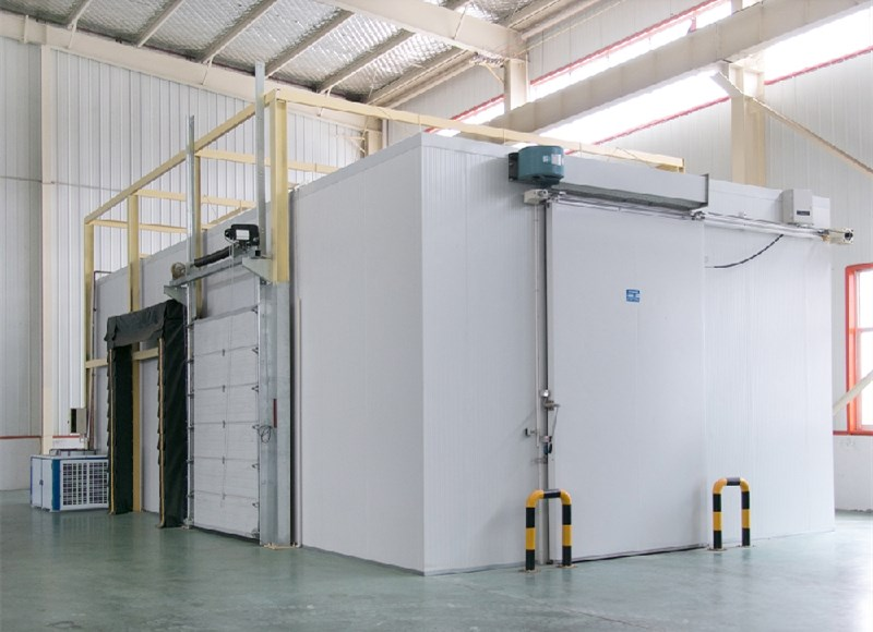cold room, freezer room and blast freezer room