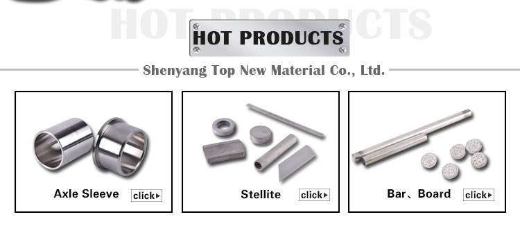casting and powder metallurgy process Cobalt Based Alloy Co Cr Mo rod