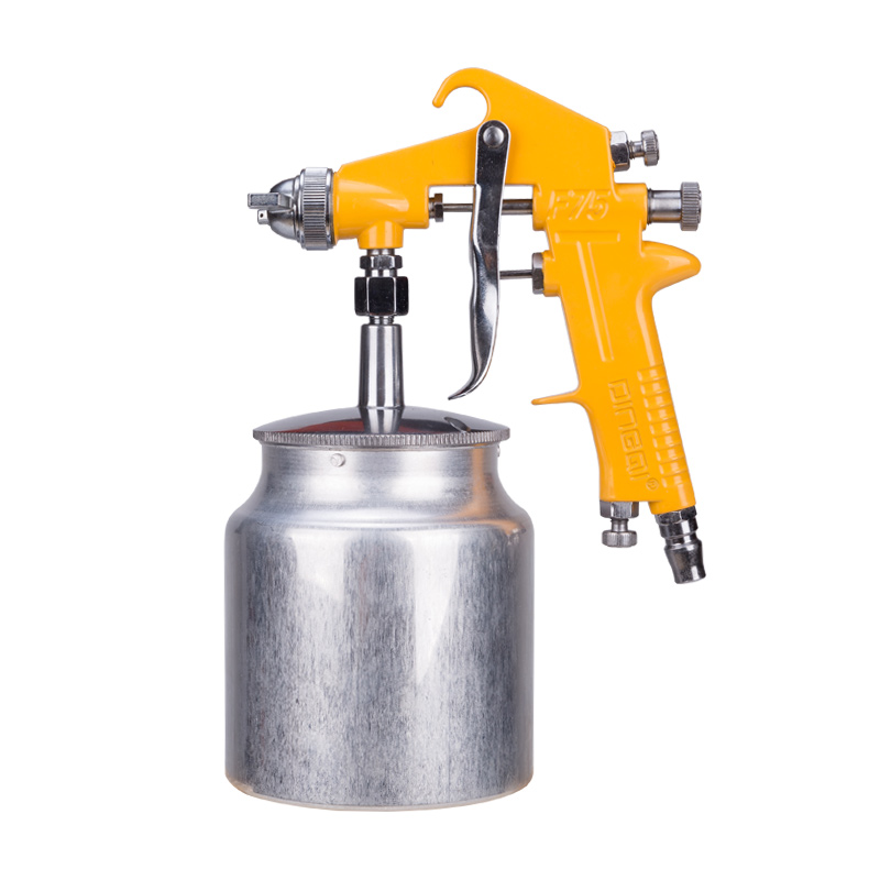 DingQi High Quality Professional Auto Spray Paint Painting Electric Hot Air Spray Gun