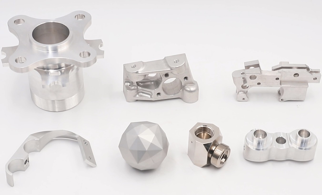 CNC machining parts from YP-MFG