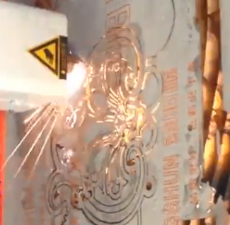 cnc plasma flower cutting