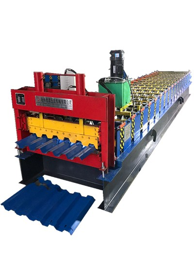color steel plate molding machine