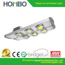 HOMBO Lampe de rue à LED ultra lumineuse à haute puissance avec lampadaire solaire CE / solaire pour projet